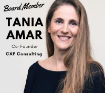 TANIA AMAR – BOARD MEMBER, MENTOR, INITIATOR OF THE WATERCOOLER EVENTS